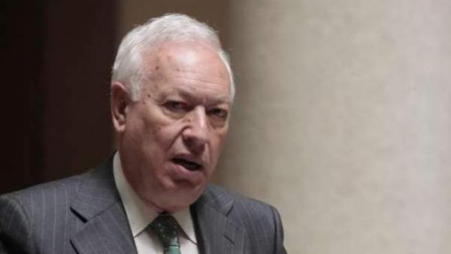 El ministro de Exteriores, José Manuel García- Margallo.