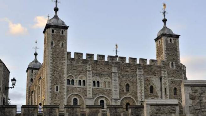 Vista de la Torre de Londres.