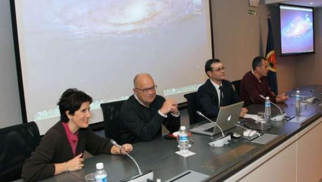 Ana Insausti, Jesús Devesa, José Ramón Alfaro y Mikel Izquierdo.