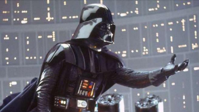 Darth Vader en El Imperio Contraataca.