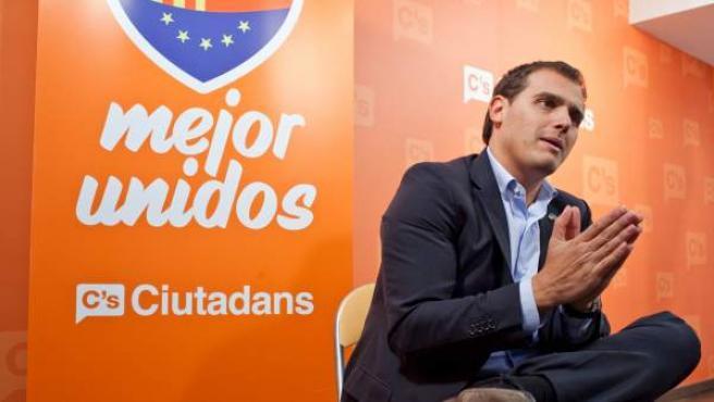 Albert Rivera, candidato de Ciutadans.