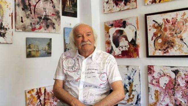 René van den Berghe, alias 'Erik el Belga', ex ladrón de arte, marchante y pintor.