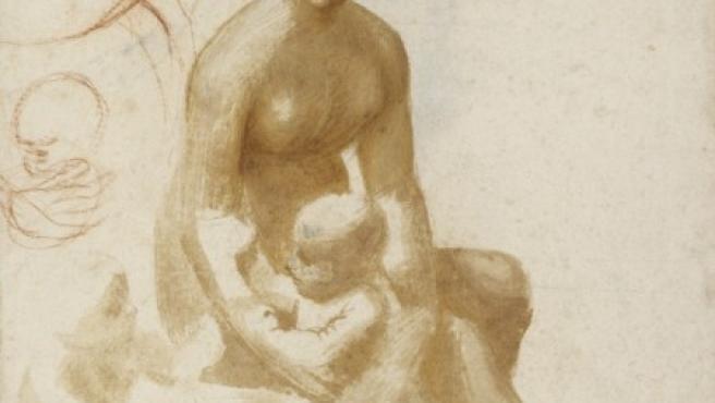 'La Virgen y el Niño con San Juan Infante', un estudio de Rafael para el cuadro 'La Virgen del prado'
