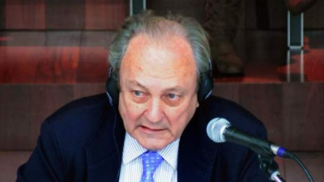 El exdirector de la Marina Mercante, José Luis López Sors, el único miembro de la administración imputado en el juicio del Prestige.