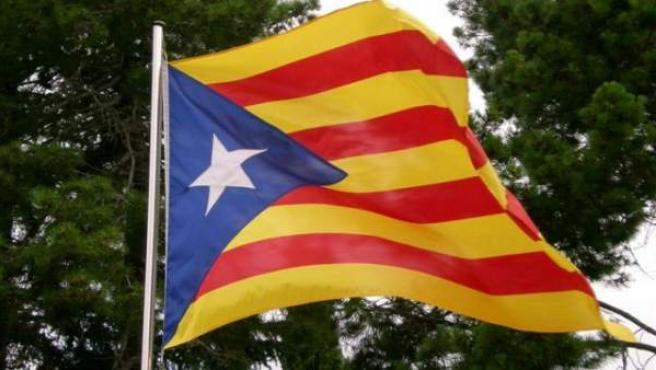 La bandera 'estelada'.
