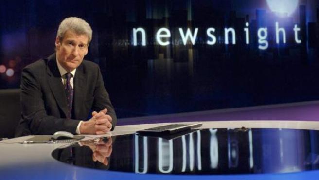 Captura de una imagen del programa 'Newsnight' que emitió el polémico reportaje.