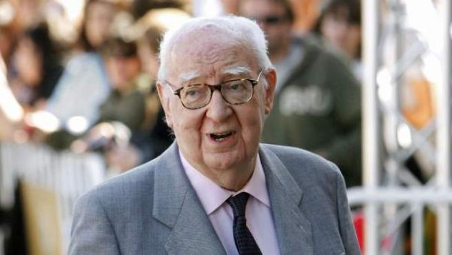 El director de cine José Luis Borau, en una foto de archivo con fecha de 2010.