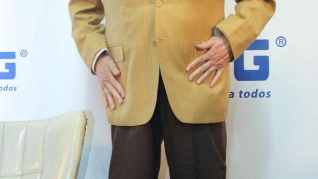 Tony Leblanc presentando la marca NPG