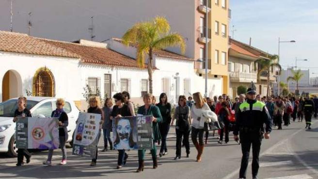 Imagen de la marcha