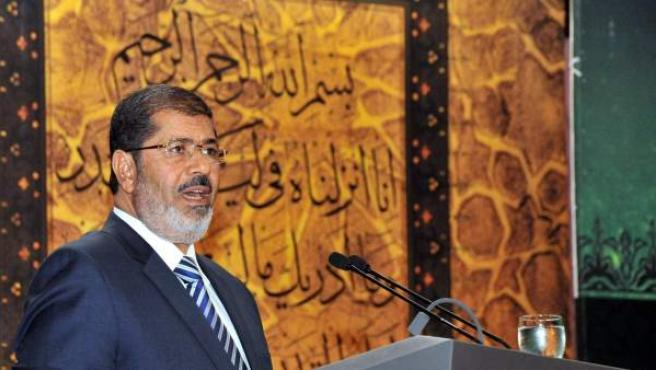 El expresidente de Egipto, Mohamed Morsi
