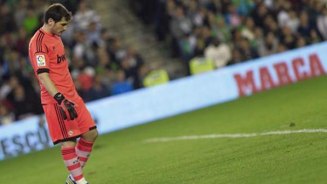 El portero del Real Madrid, Iker Casillas.