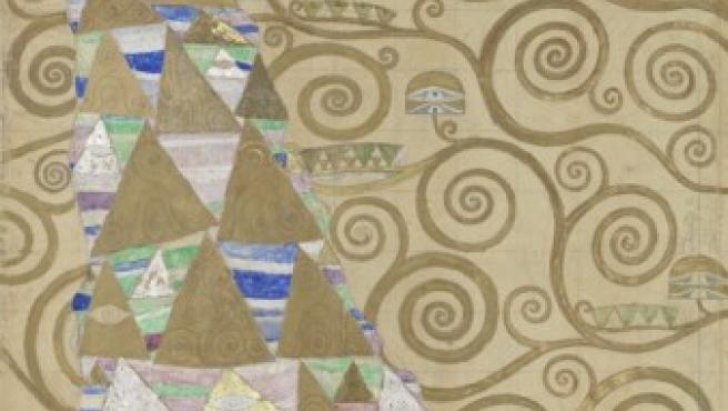 Diseños de Gustav Klimt, creados entre 1910 y 1911