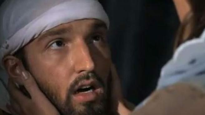 Captura de un momento de la cinta La inocencia de los musulmanes (Innocence of Muslims).