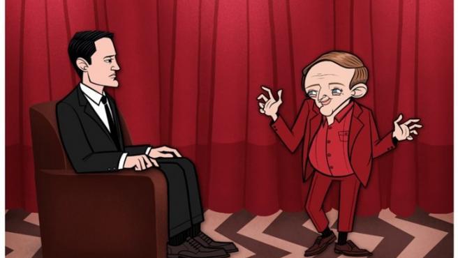 Justin White convierte en dibujos animados uno de los sueños del agente Cooper en 'Twin Peaks'