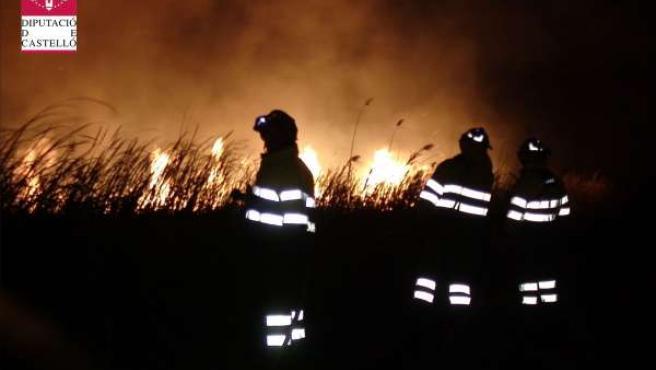 Incendio de Prat de Cabanes (Castellón)