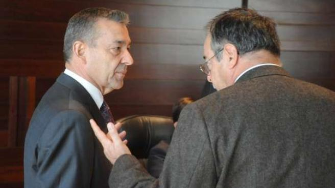 El presidente del Gobierno de Canarias, Paulino Rivero