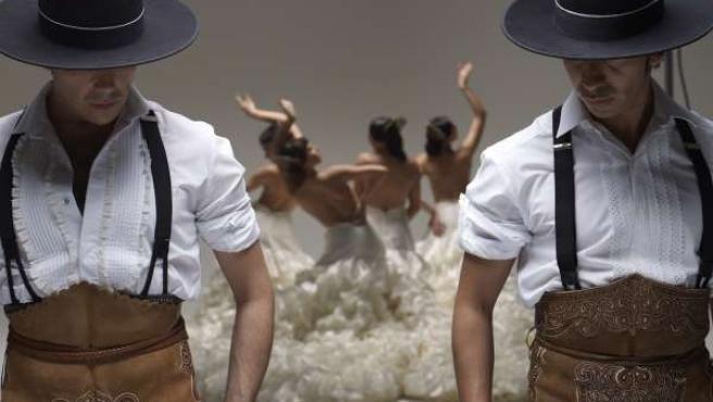 Espectáculo de danza de Rojas y Rodríguez