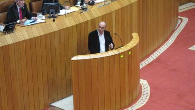 El portavoz parlamentario del BNG, Francisco Jorquera
