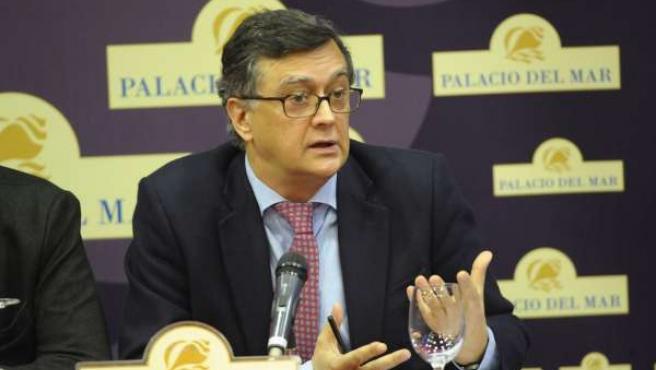 Santiago Ruiz, uno de los administradores concursales del Racing