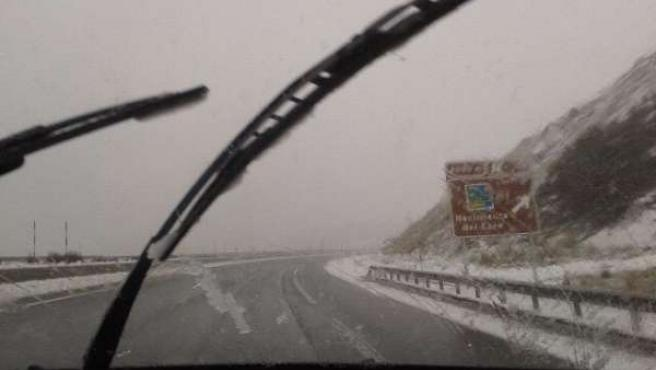 Temporal, nieve, carreteras