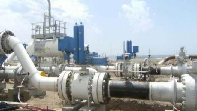 Imagen de archivo de un gasoducto.