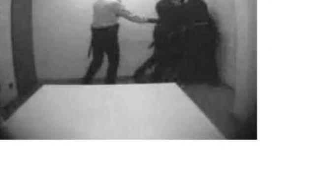 Agresión de los Mossos a un detenido.