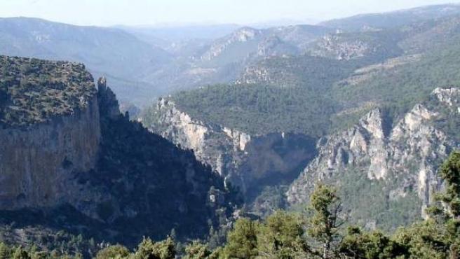 El Cañón del Zumeta, en el Parque de las Sierras de Cazorla, Segura y las Villas.