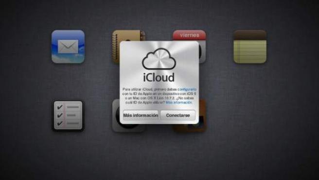 iCloud, la nube de Apple.
