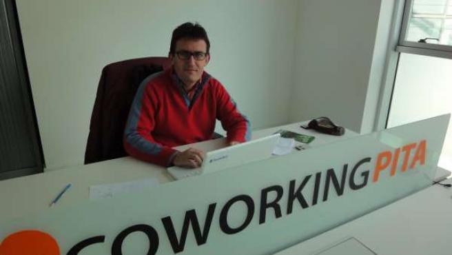 Cejudo, de Xilacurve, en su despacho de la sede central del PITA
