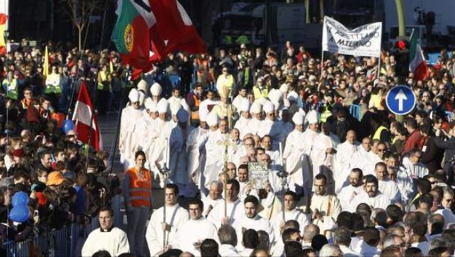 La Misa de las Familias, en Madrid.