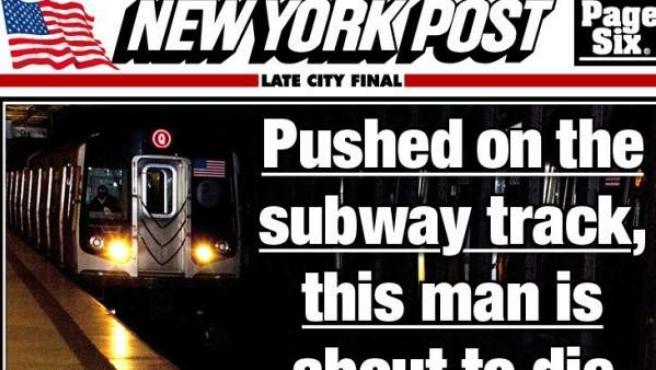 Portada del NY Post.