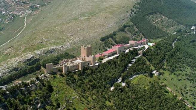 Vista aérea del Parador de Jaén