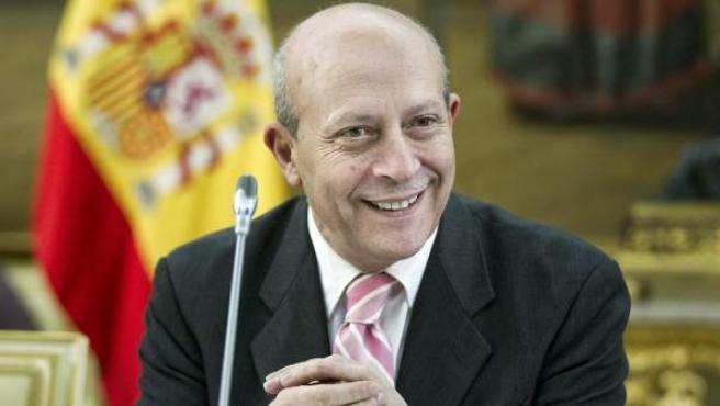 El ministro de Educación, Cultura y Deporte, José Ignacio Wert, en una imagen de archivo.