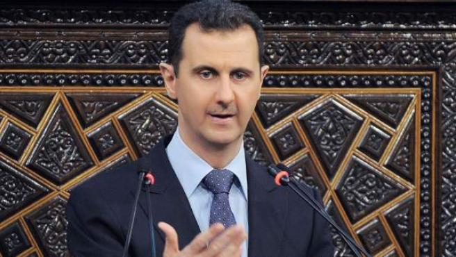 El presidente de Siria, Bachar Al Asad.