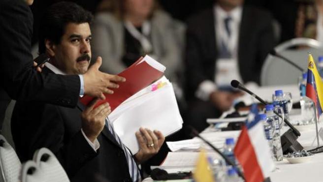 Nicolás Maduro, en una imagen de junio de 2012.