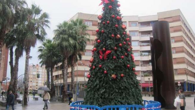 Ärbol de Navidad en Barakaldo