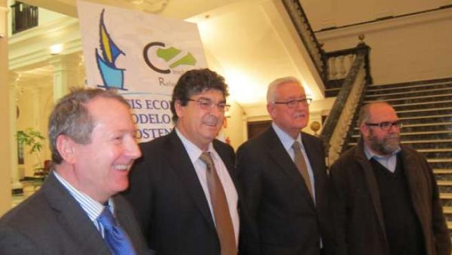 Valderas, en la sede del Consejo Consultivo de Andalucía