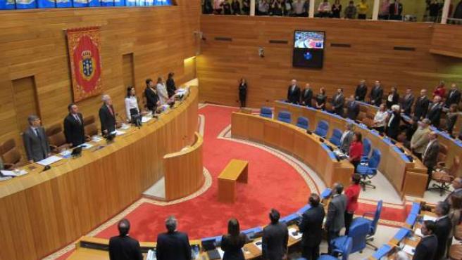 Pleno de Constitución del Parlamento IX Legislatura