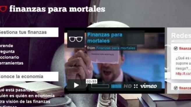 Web Finanzas para Mortales