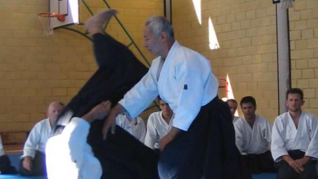 Curso de Aikido en la Ciudad Deportiva de Diputación