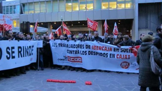 Asamblea de los trabajadores de Caja3.