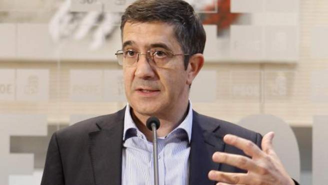 El lehendakari en funciones, Patxi López.