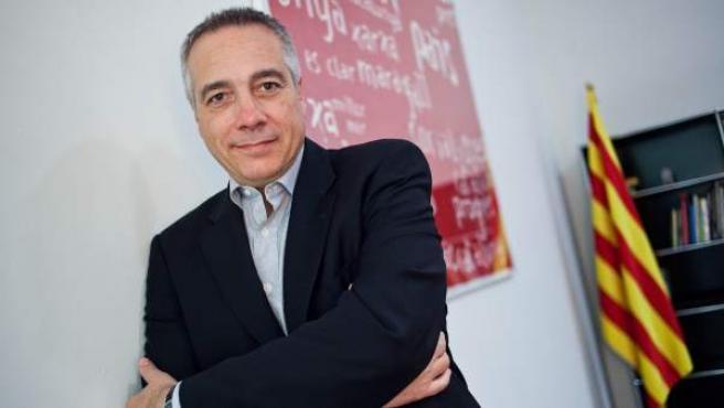 El candidato del PSC, Pere Navarro.