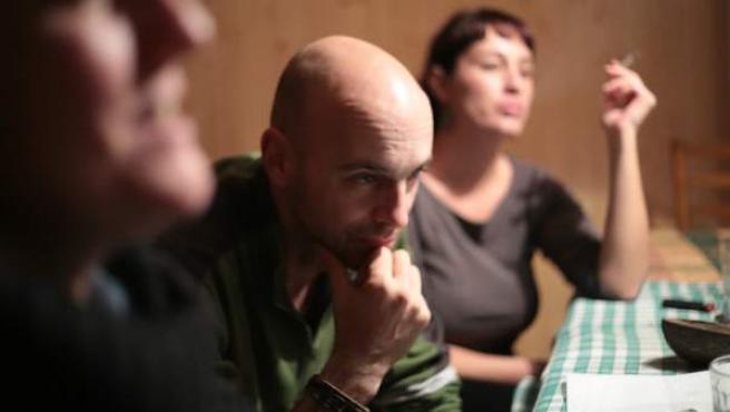El cineasta griego y vecino de Sodeto (Huesca), Costis Mitsotakis.