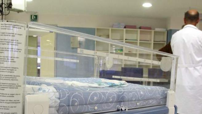 Imagen de archivo del interior del Hospital Materno Infantil de Málaga.
