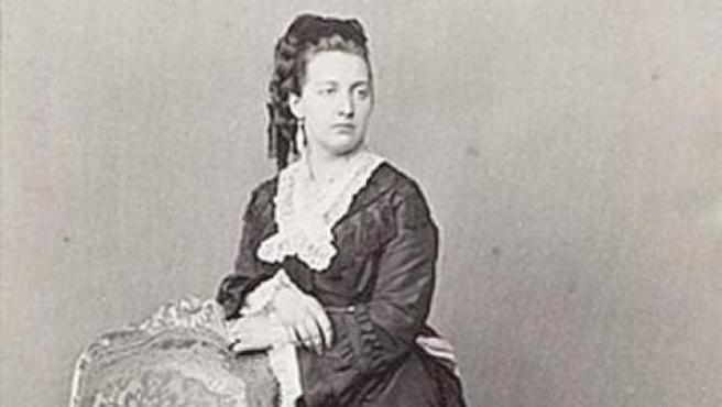 La reina María Victoria dal Pozzo della Cisterna.