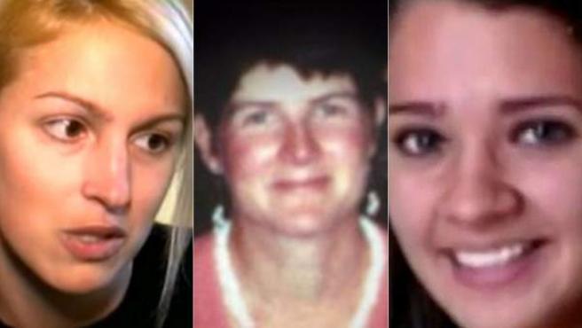 De izquierda a derecha, Kaitlin Roig (29 años), Victoria Soto (27 años) y Anne Marie Murphy (52 años), las tres heroínas en la masacre perpetrada presuntamente por Adam Lanza en la escuela de Newtown. Soto y Murphy fallecieron en la tragedia.