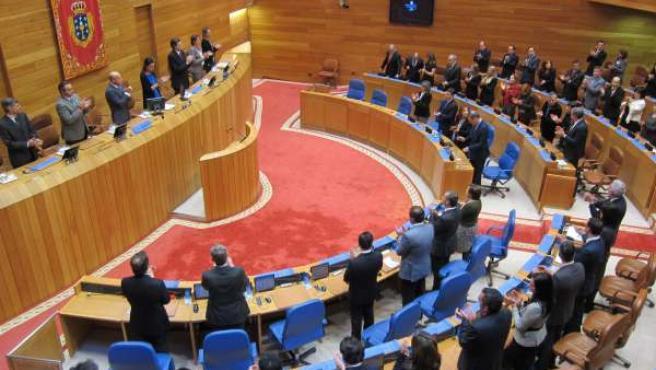 Pleno Solemne Del Parlamento De Galicia Por Su 30 Aniversario.