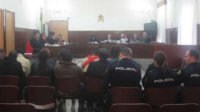 Juicio por inmigración ilegal en Huelva.