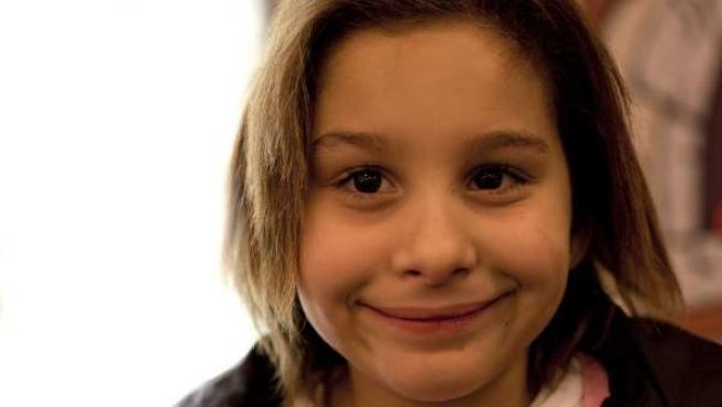 La pequeña Nadia Nerea.